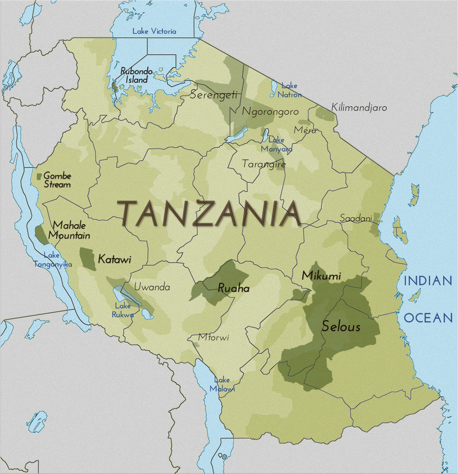 Mappa.tanzania -