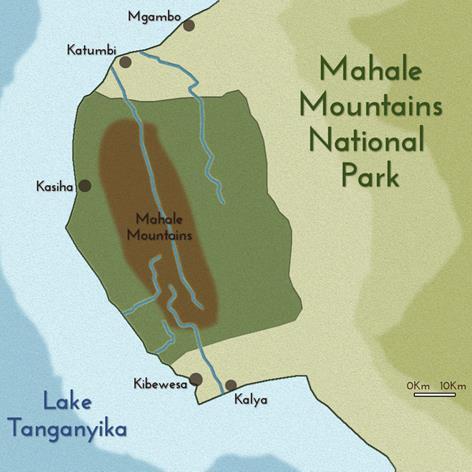 cartina mahale park -